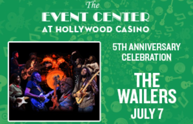 BIG 100 The Wailers Tickets Giveaway