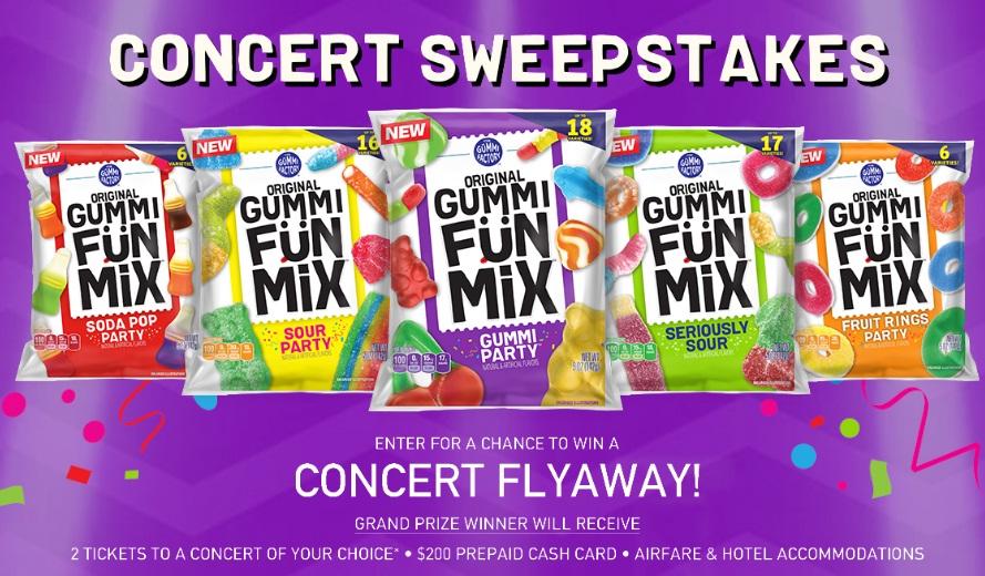 Gummi FunMix Concert Sweepstakes