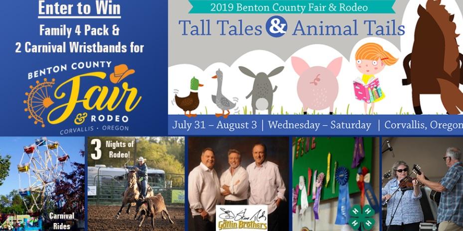 KEZI Benton County Fair And Rodeo Giveaway