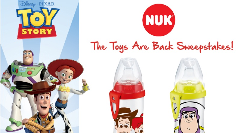 NUK Toy Story The Toys Are Back Sweepstakes
