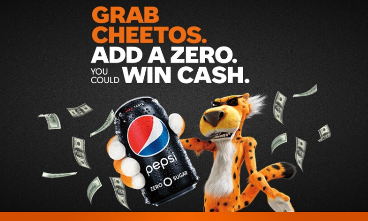 Pepsi And Cheetos Instant Win Game