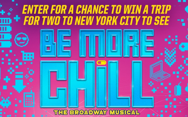 Pinkberry Be More Chill Sweepstakes