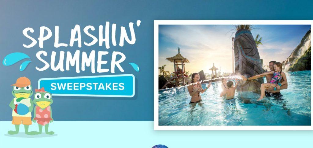 Undercover Tourists Splashin Summer Sweepstakes