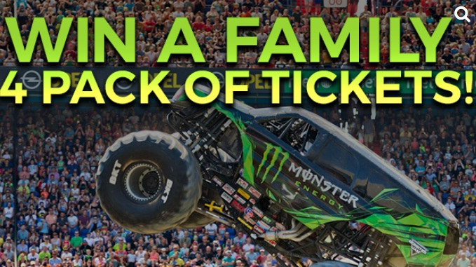 WKRN Monster Jam Watch To Win Sweepstakes