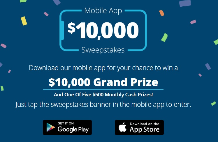 Credit One Bank Mobile App Sweepstakes