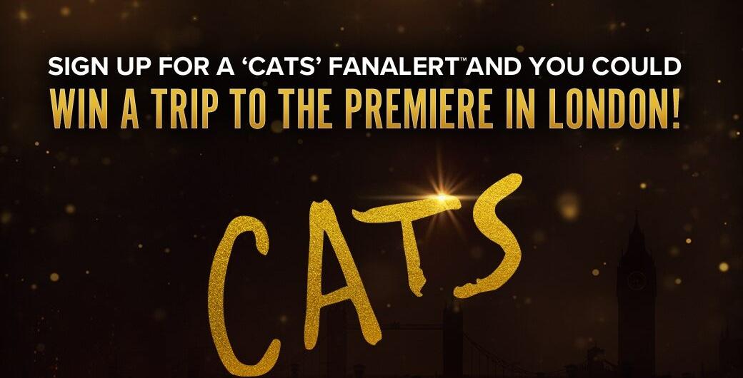 Fandangos Cats Fanalert Sweepstakes