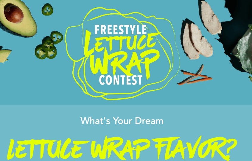 PF Changs Freestyle Lettuce Wrap Contest