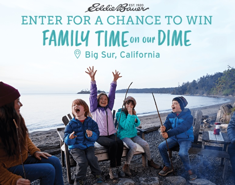 Eddie Bauer Kids Launch Sweepstakes