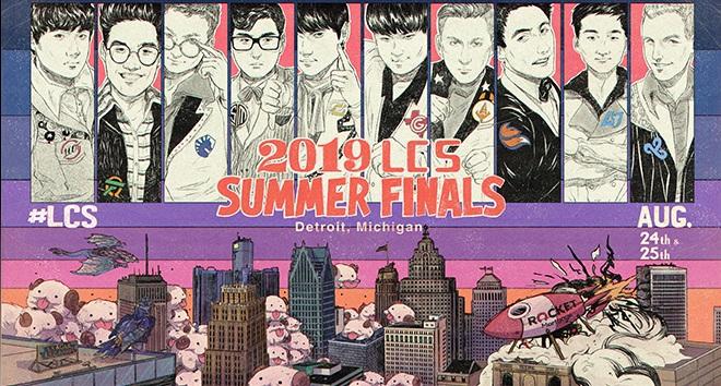 LLC – LCS Summer Finals Ticket Giveaway