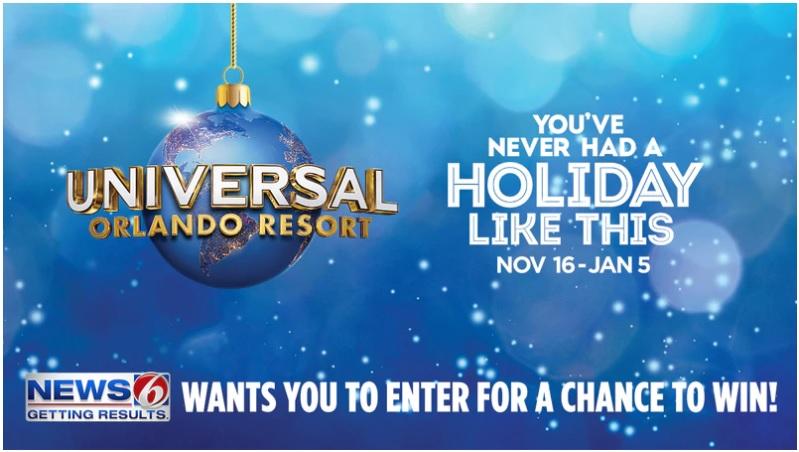 WKMG-TV And COZI Holidays At Universal Orlando Resort Contest