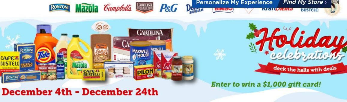 Bravo Supermarket Holiday Sweepstakes