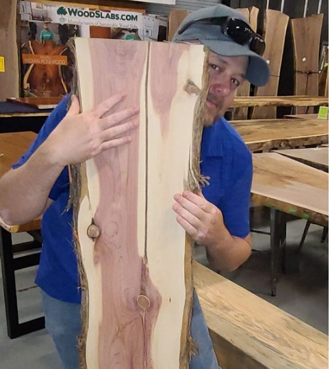 Advantage Trim And Lumber, Co. Wood Slabs Aromatic Cedar Slab Giveaway