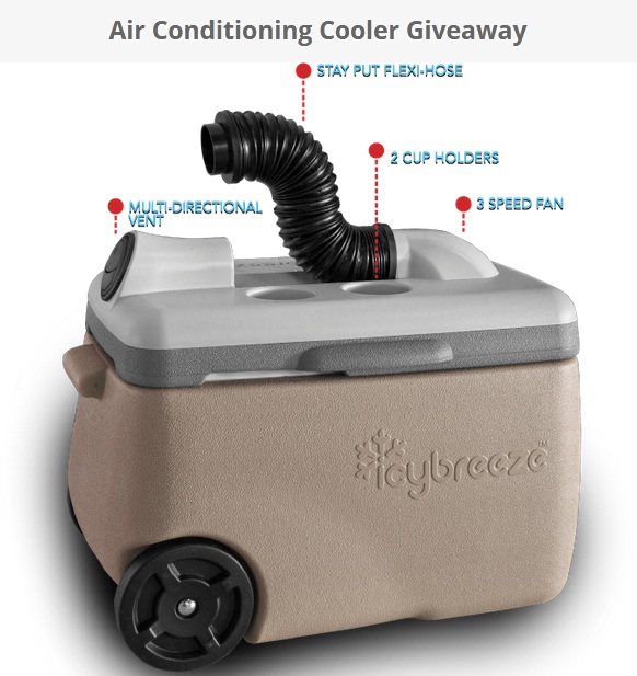 Air Conditioning Cooler Giveaway