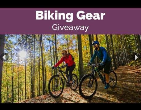 Outdoor Adventure Biking Gear Giveaway