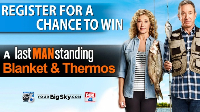 KSVI And KHMT Last Man Standing Blanket And Thermos Sweepstakes