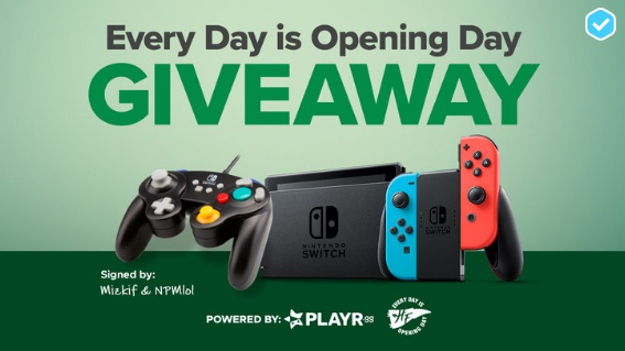 PLAYR.gg Hampton Farms Every Day Is Opening Day Giveaway