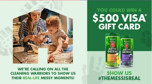 QMobius The Art Of Green Mess Is Real Sweepstakes