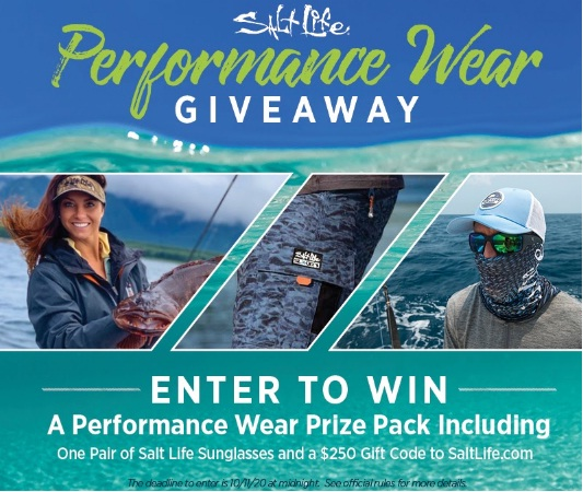 Salt Life Performance Wear Giveaway