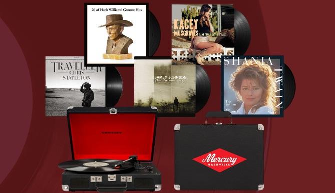 Universal Music Group Nashville Umg Nashville Mercury Vinyl Prize Package Sweepstakes