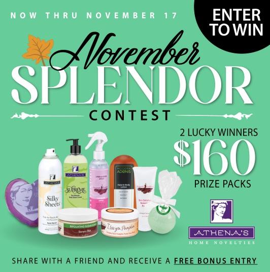 Athena November Splendor Giveaway