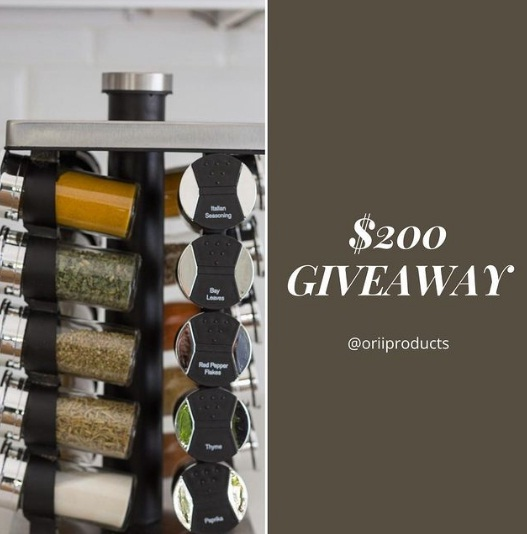 Orii Products $200 Orii Gift Card Giveaway