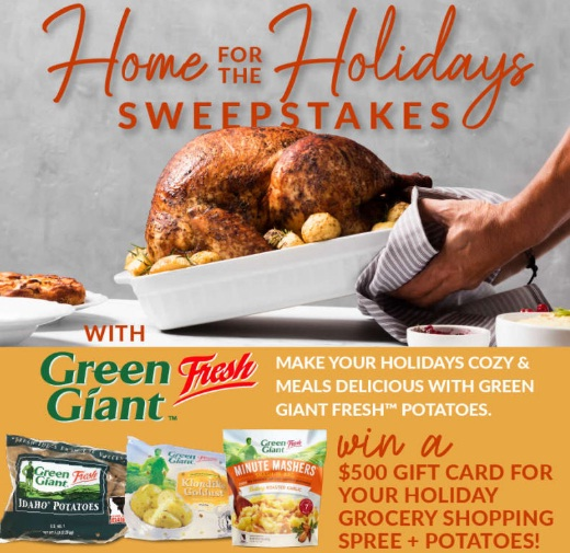 Potandon Produce L.L.C Farm Star Living Home For The Holidays Sweepstakes