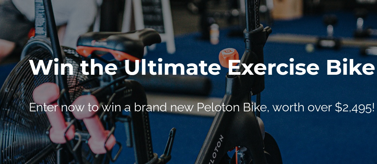 1440 Media Peloton Bike Giveaway