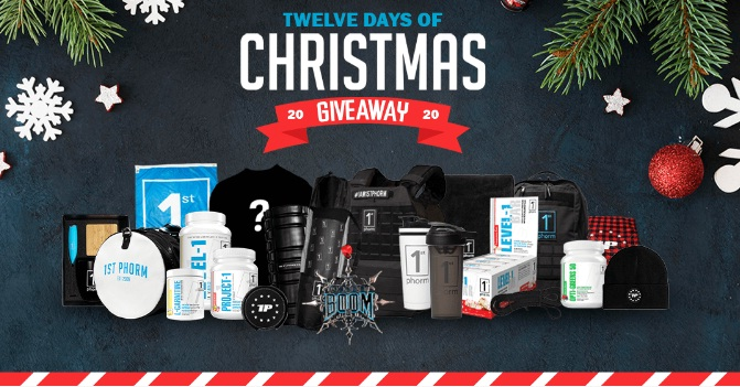 1st Phorm 12 Days Of Christmas Giveaway