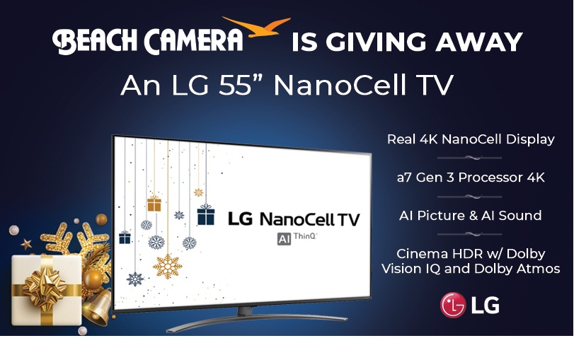 Beach Trading Co. Beach Camera LG Nanocell Giveaway