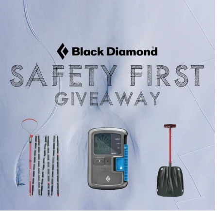Campman Black Diamond Safety First Giveaway