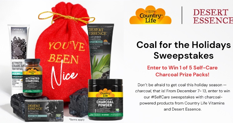 Coal For The Holidays Sweepstakes