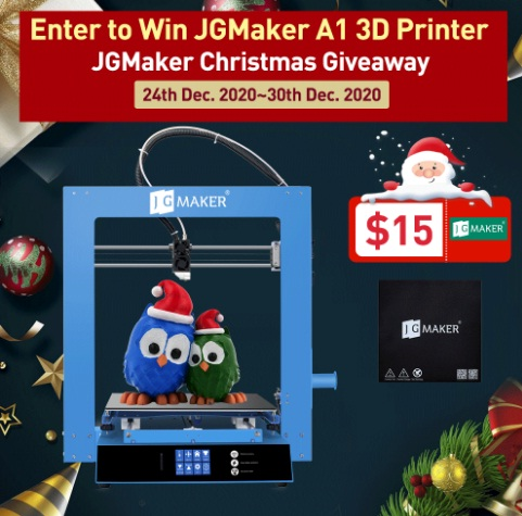 JGMaker Christmas Giveaway