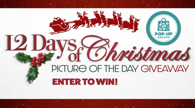 KHON2 Pop-Up Makeke 12 Days Of Christmas Giveaway