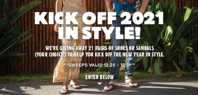 Rockport Reef Kick Off 2021 In Style Sweepstakes