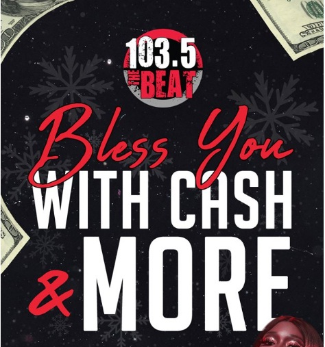 iHeartMedia 1035 The BEAT Bless You With Cash And More Sweepstakes