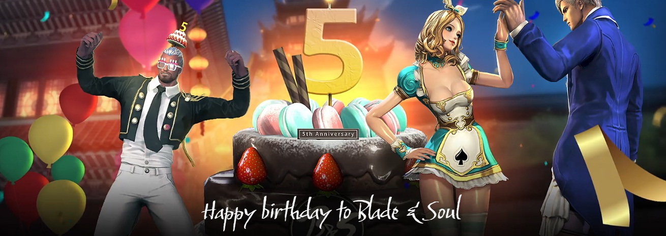 NC Interactive Blade And Soul 5th Anniversary Battle Station Sweepstakes