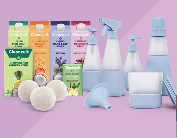 SheFinds Cleancult Cleaning Bundle Giveaway